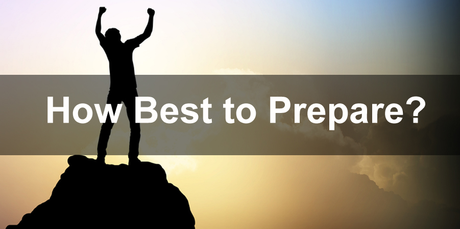 how best to prepare