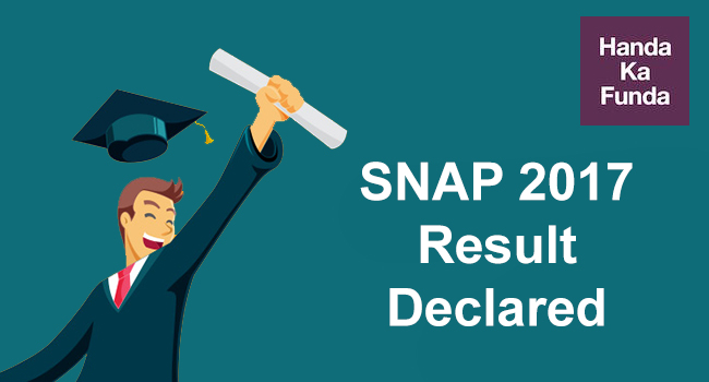 SNAP Results 2017 and SIBM SCMHRD SIIB College Cutoffs