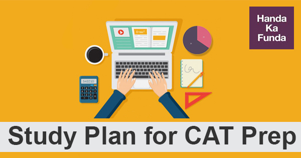 Study Plan for CAT preparation
