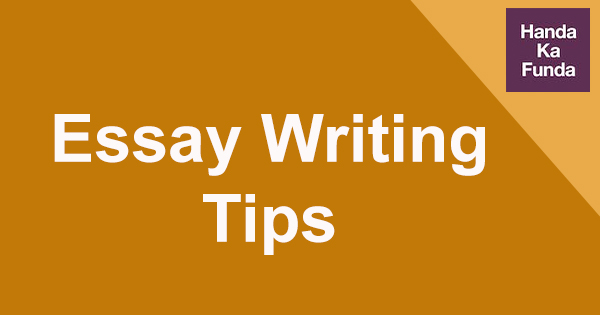 essay writing tips and tricks