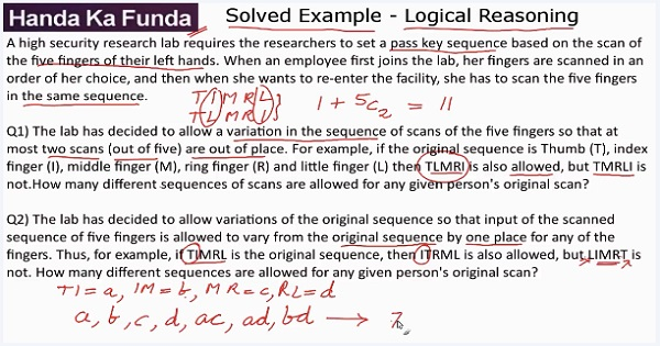 CAT 2017 - Afternoon slot - LRDI - Logical Reasoning - Set - A high security research lab requires