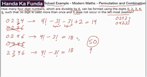CAT 2017 - Afternoon slot - Quantitative Aptitude - Modern Maths - P&C - How many four digit numbers