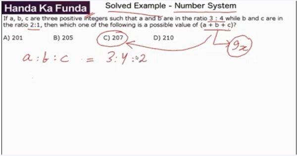 CAT 2017 - Afternoon slot - Quantitative Aptitude - Number Systems - If a, b, c are three positive integers