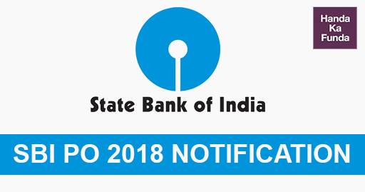 SBI PO Notification for 2018 Recruitment