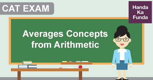 Averages Concepts from Arithmetic