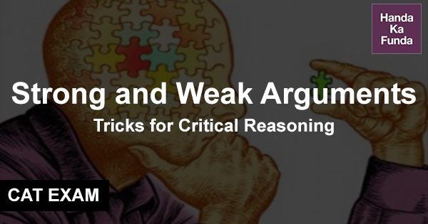 Strong and Weak Arguments Tricks for Critical Reasoning
