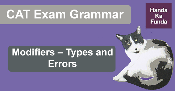 CAT Grammar Modifiers Types and Errors