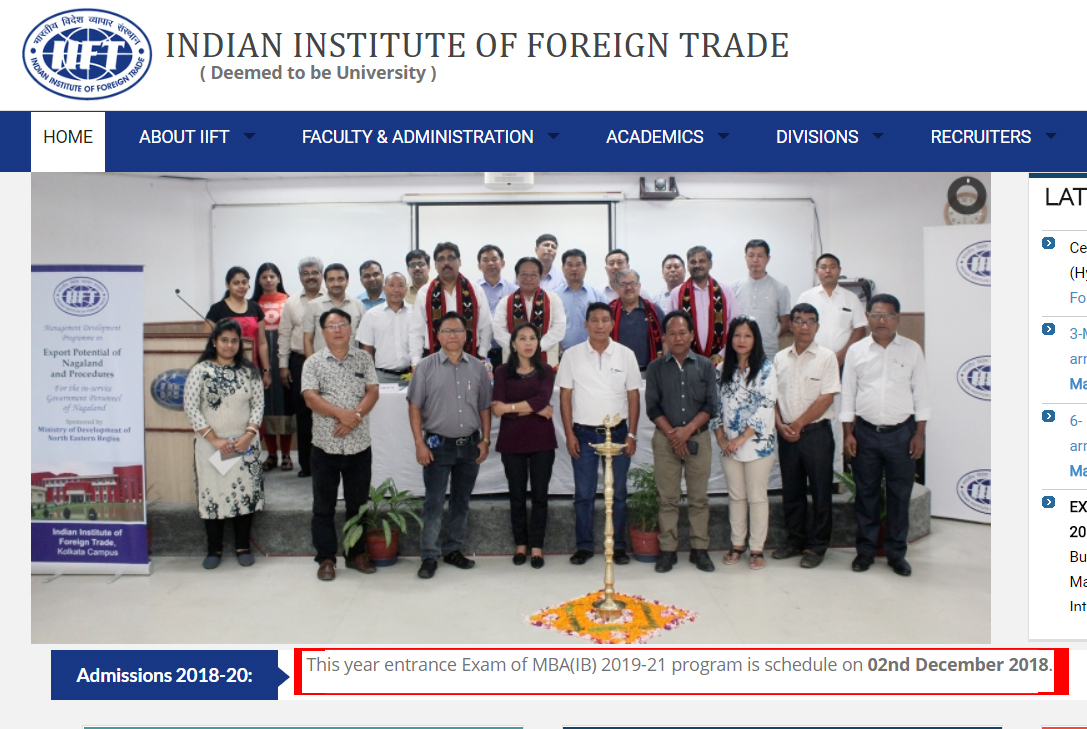 IIFT Screenshot