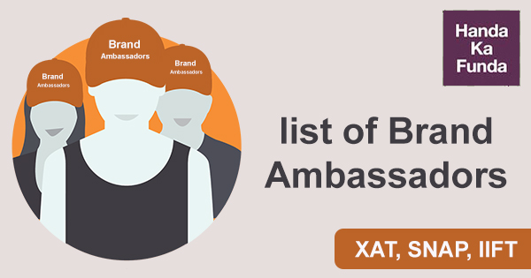 Ace GK in XAT, SNAP, IIFT with this list of Brand Ambassadors