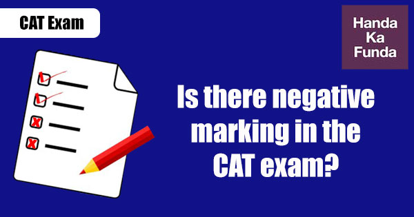 Is-there-negative-marking-in-the-CAT-exam