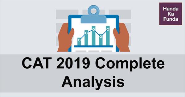 CAT 2019 Exam complete Analysis