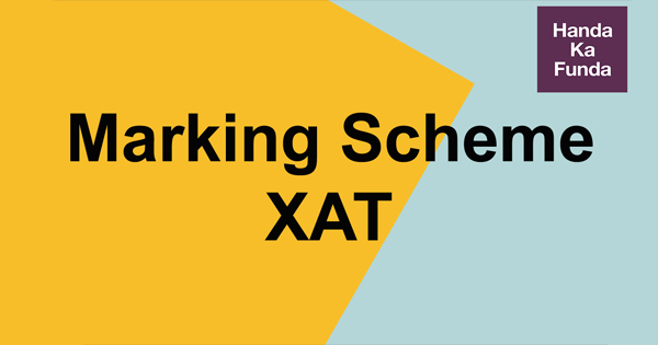 Marking Scheme in XAT Exam – How Negative Marking Works