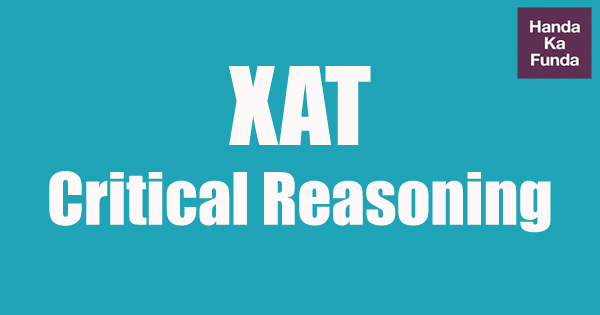 XAT Critical Reasoning