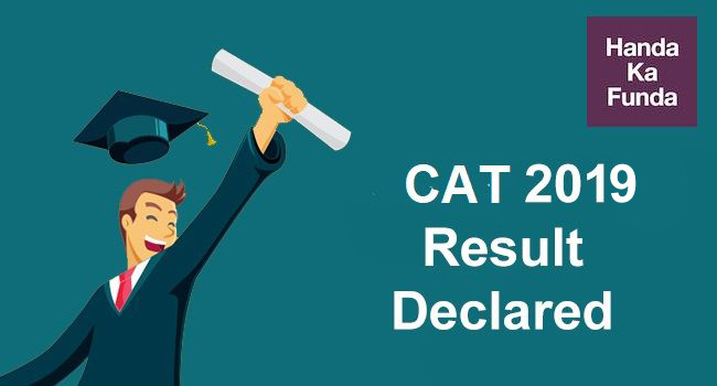 CAT 2019 result Declared