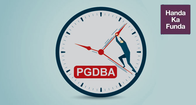 How to effectively manage time in the PGDBA written exam