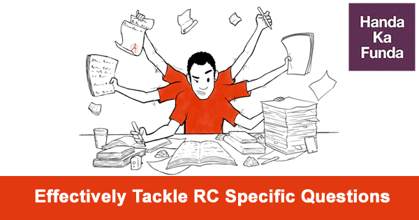 how to Effectively Tackle Reading Comprehension Specific Questions