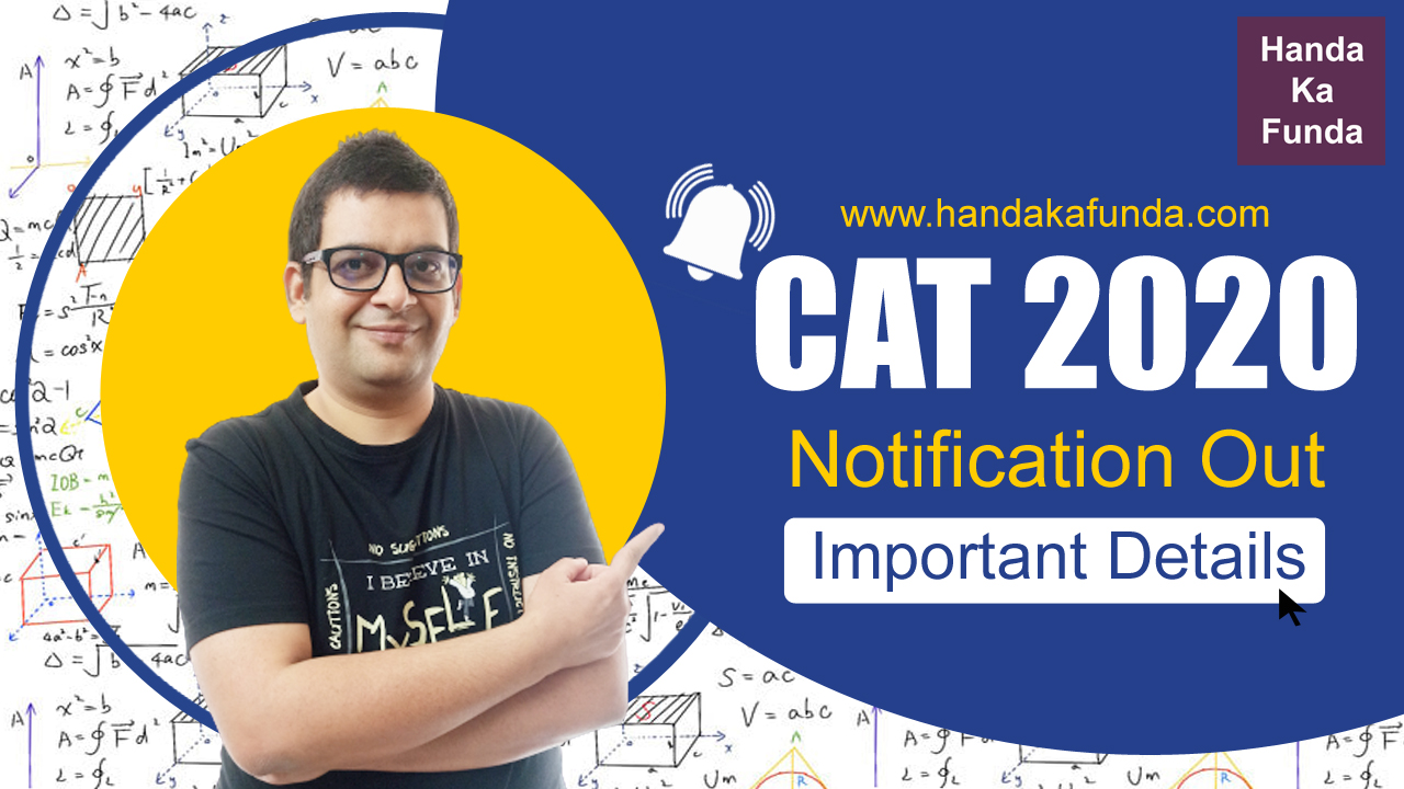 CAT 2020 Notification Out