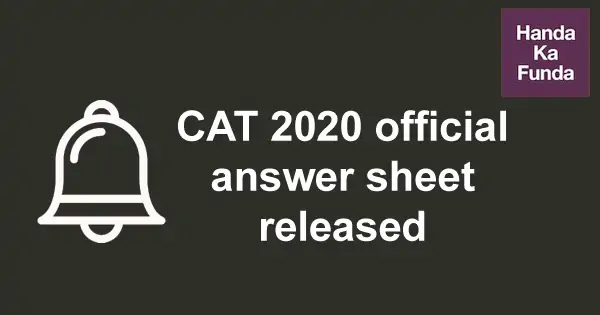 CAT-2020-response-key-and-official-answer-sheet-released